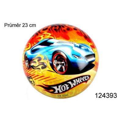 Míč Star Hot Wheels Fire 23cm