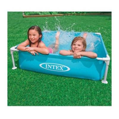 INTEX Bazén Frame Mini modrý 122x122x30cm 57173