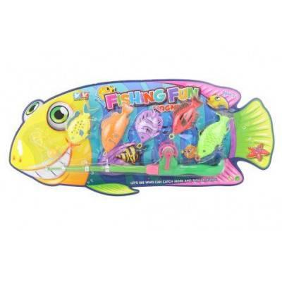 Rybolov - 5 rybek s prutem a háčkem