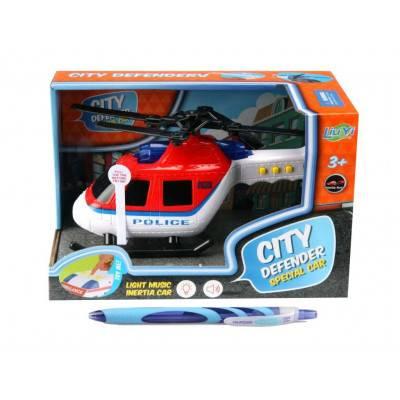 Helikoptéra Police City Defender, zvuky a světlo