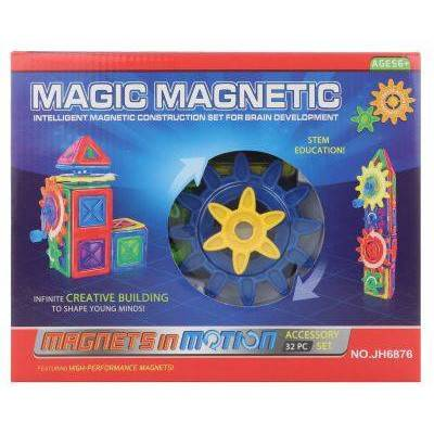 Magnetická stavebnice Magic Magnetic 32ks MOTION