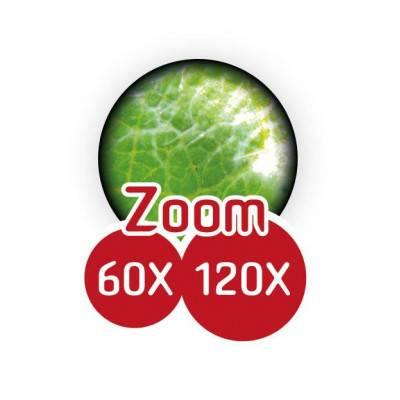 BUKI Mikroskop kapesní 60-120x zoom MR200