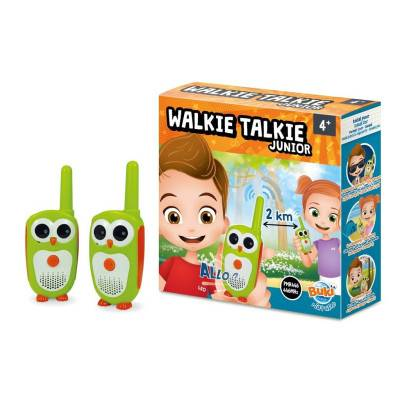 [bez obalu] BUKI MiniScience Vysílačky Walkie Talkie Junior 2km