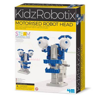 4M KidzRobotix Motorizovaná robotická hlava