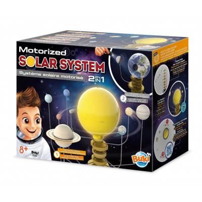 BUKI Motorizovaná Sluneční soustava 2v1