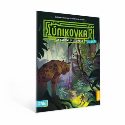 Albi Kniha Únikovka - Ztraceni v džungli