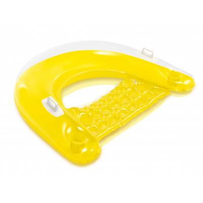 INTEX Nafukovací sedátko Sit'n Float 58859 žlutá