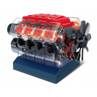 BUKI Stavebnice motoru V8