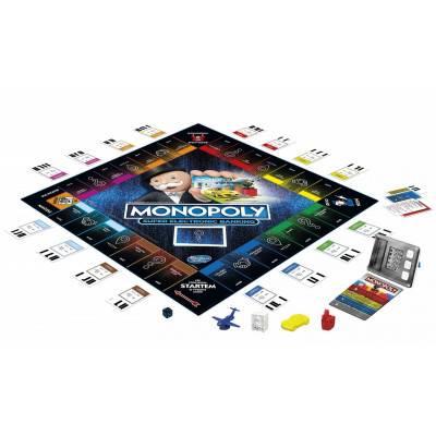 Hasbro Monopoly Super elektronické bankovnictví CZ