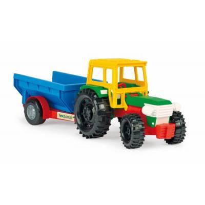 Wader Traktor s vlečkou