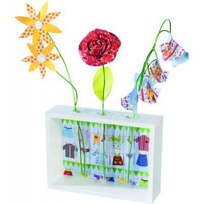 Papíry na skládání Origami Květiny, 170 listů, 80g