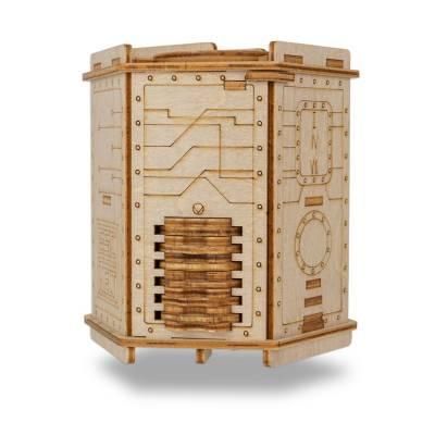 Dřevěný hlavolam Fort Knox Box