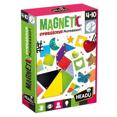 HEADU Montessori magnetické výtvory