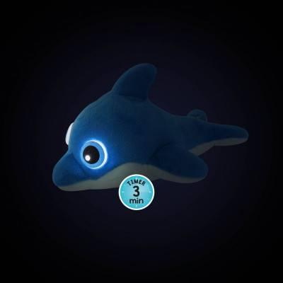 BUKI Plyšový svítící usínáček Delfín