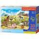Puzzle maxi 20 dílků - Zvířátka na farmě 2429